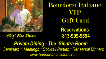 Benedetto's Gift Cards