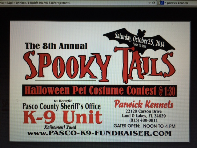 spook tails website blog